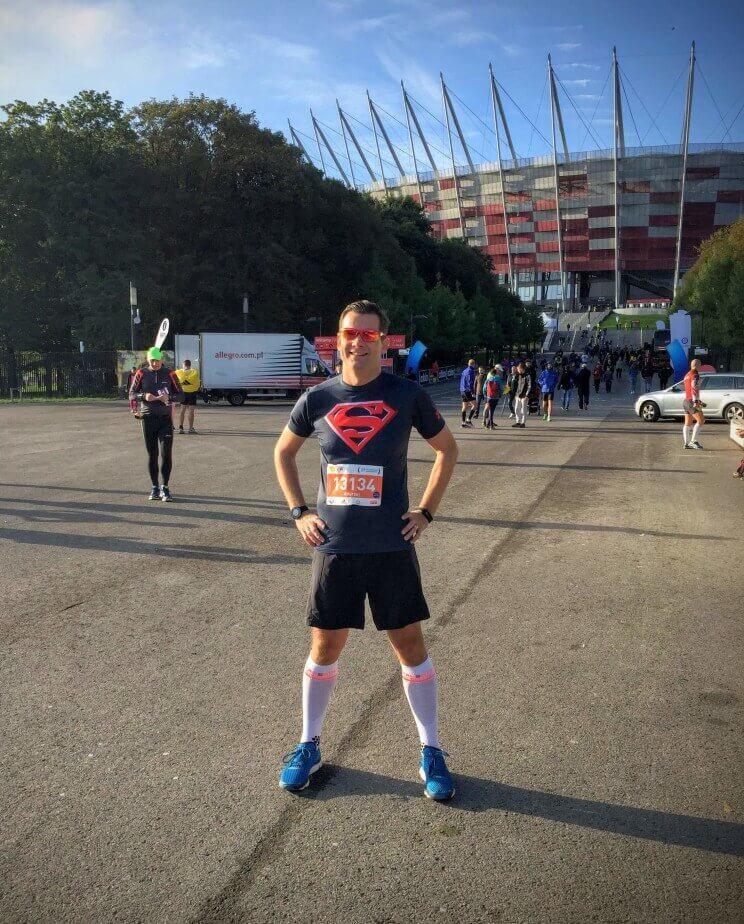 Maraton - przed startem